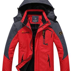 WantDo-Mens-Waterproof-Mountain-Jacket-Fleece-Windproof-Ski-Jacket-0