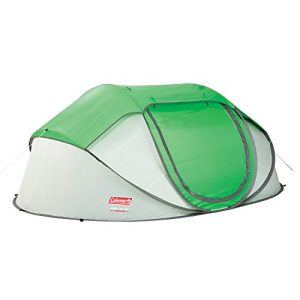 COLEMAN-FastPitch-Galiano-4-Pop-Up-Tent-for-4-people-Super-Fast-Set-Up-GreenWhite-2000mm-water-column-45m-livingsleeping-space-2000024838-0