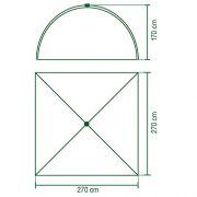 Coleman-2000012694-Instant-5-Dome-Tent-Green-0-1