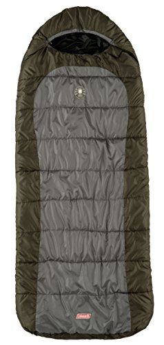 Coleman-Big-Basin-Sleeping-Bag-Green-0