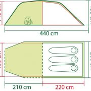 Coleman-Coastline-3-Plus-Three-Person-Tent-GreenGrey-0-1
