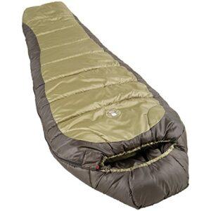 Coleman-North-Rim-Sleeping-Bag-Olive-GreenBlack-208-cm-0