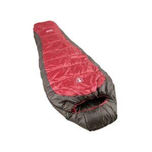 Coleman-Taos-Sleeping-Bag-RedBlack-208-cm-0