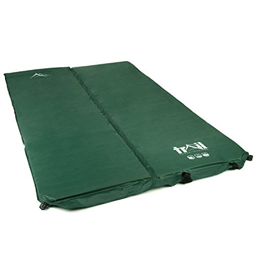 Deluxe Double Self Inflating Camping Roll Mat Inflatable