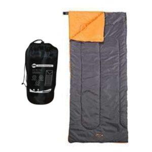 Milestone-Camping-Envelope-Sleeping-Bag-Black-0