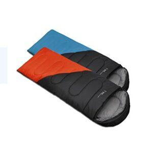 YAAGLE-Outdoor-Sports-Camping-Hiking-weight-Waterproof-Spring-Autumn-Warm-Envelope-Sleeping-Bag-Blue-Orange-0