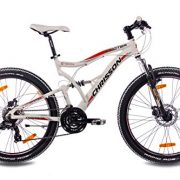 26-Inch-Alloy-MOUNTAIN-BIKE-BICYCLE-CHRISSON-EMOTER-Fully-UNISEX-with-21S-SHIMANO-TX55-2xDISC-white-matt-0-0
