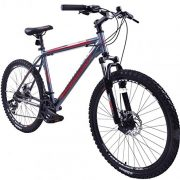 AMMACO-ALPINE-SPORT-21-SPEED-MENS-ALLOY-MOUNTAIN-BIKE-WITH-DISC-BRAKES-26-WHEEL-EXTRA-LARGE-23-FRAME-FOR-TALL-MEN-GREY-0-0