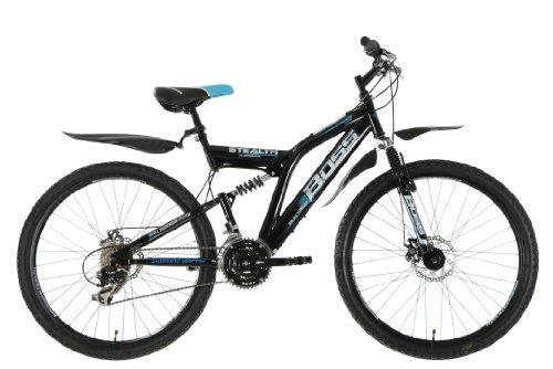 Boss-Stealth-Mens-Dual-suspension-bike-Black-26-Inch-0