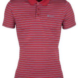 Mountain-Warehouse-Mens-Raja-Stripe-Polo-Shirt-T-Shirt-Walking-Hiking-Sports-Top-0