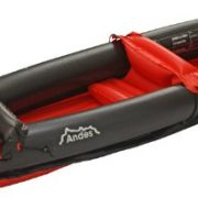 Andes-InflatableBlow-Up-Two-Person-KayakCanoe-With-Paddle-Water-Sports-0-2