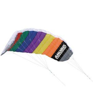 Anubis-285-m-Freestyle-Beach-Power-Stunt-Sport-Kite-Dual-Line-Parafoil-0