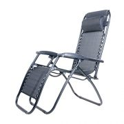 BTM-Set-of-2-Black-Folding-Garden-Patio-Deck-Pool-Recliner-Sun-loungers-Reclining-Chair-Furniture-Camping-Chair-Textoline-Royale-ChairBlack-0-0