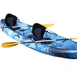 Bluefin-Tandem-21-Sit-On-Top-Fishing-Kayak-With-Rod-Holders-Storage-Hatches-Padded-Seat-Paddle-0