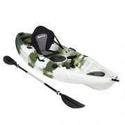 Bluewave-Single-Sit-On-Top-Fishing-Kayak-With-5-Rod-Holders-2-Storage-Hatches-Padded-Seat-Paddle-0-3