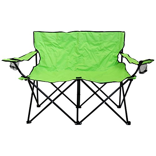 Charles-Bentley-Double-Folding-Camping-Chair-Love-Seat-Sofa-Travel-Chair-0