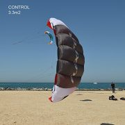 Flexifoil-17m2-24m2-33m2-Control-3-line-Kitesurf-Sport-Trainer-Kite-Including-Bar-Lines-and-Quick-Release-Safety-System-with-90-Day-Money-Back-Guarantee-By-World-Record-Power-Kite-and-Kiteboard-Design-0-4