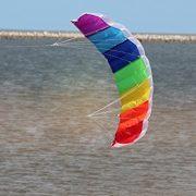 Hengda-Kite-NEW-14m-Power-Kite-Outdoor-FUN-Toys-Parafoil-Parachute-Dual-Line-Surfing-0-2