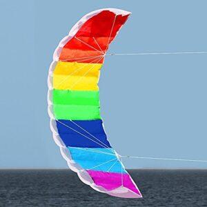 Hengda-Kite-NEW-14m-Power-Kite-Outdoor-FUN-Toys-Parafoil-Parachute-Dual-Line-Surfing-0