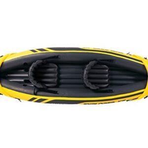 Intex-Explorer-K2-Kayak-YellowBlack-0