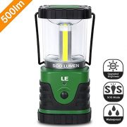 LE-500lm-LED-Lantern-9W-3-Lighting-Modes-Battery-Powered-Water-Resistant-Home-Garden-and-Camping-Lanterns-for-Hiking-Camping-Emergencies-Hurricanes-Outages-LED-Camping-Lantern-0-5
