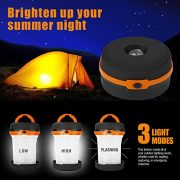 LE-Collapsible-LED-Camping-Lantern-Flashlight-Dual-Purpose-3-Modes-Battery-Powered-Water-Resistant-Home-Garden-and-Camping-Lanterns-for-Hiking-Emergencies-Outages-0-1
