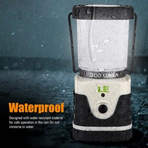 LE-Outdoor-LED-Lantern-Ultra-Bright-300lm-shockproof-skidproof-Home-Garden-and-Camping-Lanterns-0