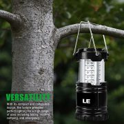 LE-Pack-of-2-Units-Portable-Collapsible-LED-Lantern-30-LEDs-Battery-Powered-Water-Resistant-Home-Garden-and-Camping-Lanterns-for-Hiking-Camping-Emergencies-LED-Camping-Lantern-0-1