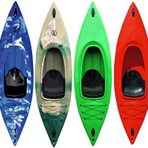 Riber-One-Man-Sit-In-Kayak-Includes-Free-Spray-Deck-Ideal-for-Beginners-Rear-Storage-Area-140kg-Capacity-Various-Colours-Available-0