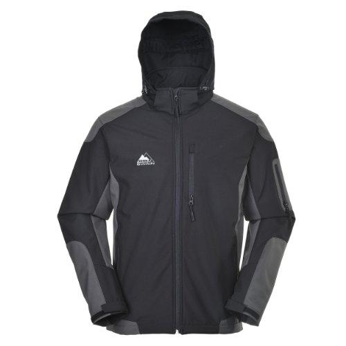 COX-SWAIN-Men-3-Layer-Softshell-Jacket-DESCENT-TITANIUM-10000mm-waterproof-0
