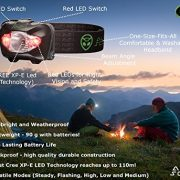 Head-Torch-by-Alien-Scout-High-End-Professional-Shockproof-and-Weatherproof-LED-Headlamp-for-Running-Camping-Cycling-Fishing-Dog-Walking-Reading-Working-DIY-Or-Watching-Nature-Adjustable-Lightweight-a-0-4