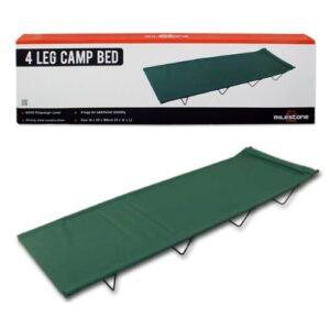 Milestone-Camping-4-Leg-Camp-Bed-Green-0