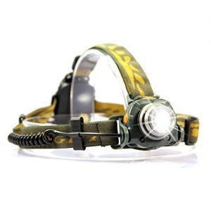 OxyLED-LED-Headlamp-Motion-Sensor-Flashlight-Headlight-with-2-Brightness-Levels-and-Strobe-Light-and-Comfortable-For-Camping-Cycling-Running-and-Hunting-0