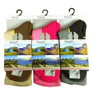Undercover-Womens-Freshfeel-Ultimate-Walking-Hiking-Boot-Sock-3-Pair-0