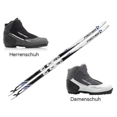 XC-Pro-Cross-Country-Ski-Ski-Set-Fischer-Summit-with-Binding-and-Shoes-207-cm-48-Men-0