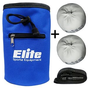 Elite-Sportz-Chalk-Bag-Set-With-2-x-100-Natural-Magnesium-Carbonate-Chalk-Balls-Chalk-Bag-for-Rock-Climbing-Gymnastics-Weightlifting-More-Lifetime-Guarantee-0