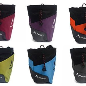 Psychi-Premium-Chalk-Bag-for-Bouldering-Rock-Climbing-with-Rear-Zip-Pocket-and-Waist-Belt-0