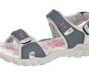 WOMENS-SPORTS-WALKING-HIKING-VELCRO-FLAT-SANDALS-SHOES-SIZE-4-8-NAVY-0
