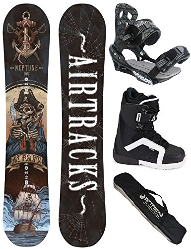 AIRTRACKS-SNOWBOARD-SET-WIDE-BOARD-NEPTUNE-SOFTBINDING-SAVAGE-SOFTBOOTS-SB-BAG-0