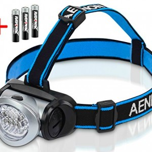 Head-Torch-Flashlight-with-Red-LED-Light-Super-Bright-Lightweight-Comfortable-Easy-to-Use-Perfect-for-Running-Walking-Camping-Reading-Hiking-Kids-DIY-More-Batteries-Included-0