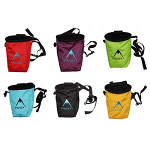 Psychi-Chalk-Bag-for-Rock-Climbing-Bouldering-with-Rear-Zip-and-Waist-Belt-0