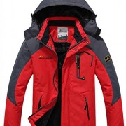 WantDo-Mens-Waterproof-Mountain-Jacket-Fleece-Windproof-Ski-Jacket-0-0