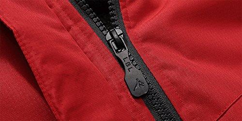 a815055c06d Wantdo Men s Waterproof Mountain Jacket Fleece Windproof Ski Jacket ...