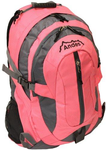 Andes 35 Litre Bright Pink Rucksackbackpack For