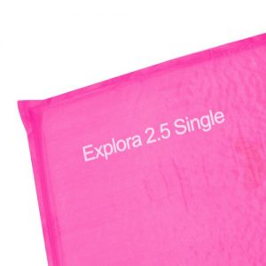 Andes Explora 25cm Single Self Inflating Camping