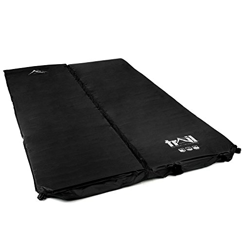 Deluxe-Double-Self-Inflating-Camping-Roll-Mat-Inflatable-Sleeping-Mattress-5cm-Thick-0