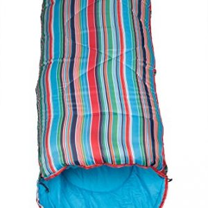 Mountain-Warehouse-Sleeping-Bag-Apex-Mini-Square-Patterned-Compact-Lightweight-Season-Festival-0
