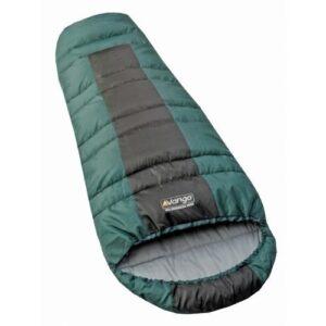 New-Vango-Wilderness-Midi-Sleeping-Bag-Green-0