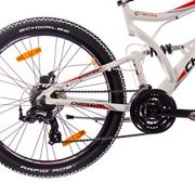 26-Inch-Alloy-MOUNTAIN-BIKE-BICYCLE-CHRISSON-EMOTER-Fully-UNISEX-with-21S-SHIMANO-TX55-2xDISC-white-matt-0-2
