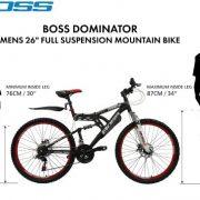 Boss-Mens-Dominator-Mountain-Bike-BlackRed-12-Years-18-Inch-26-Inch-0-0